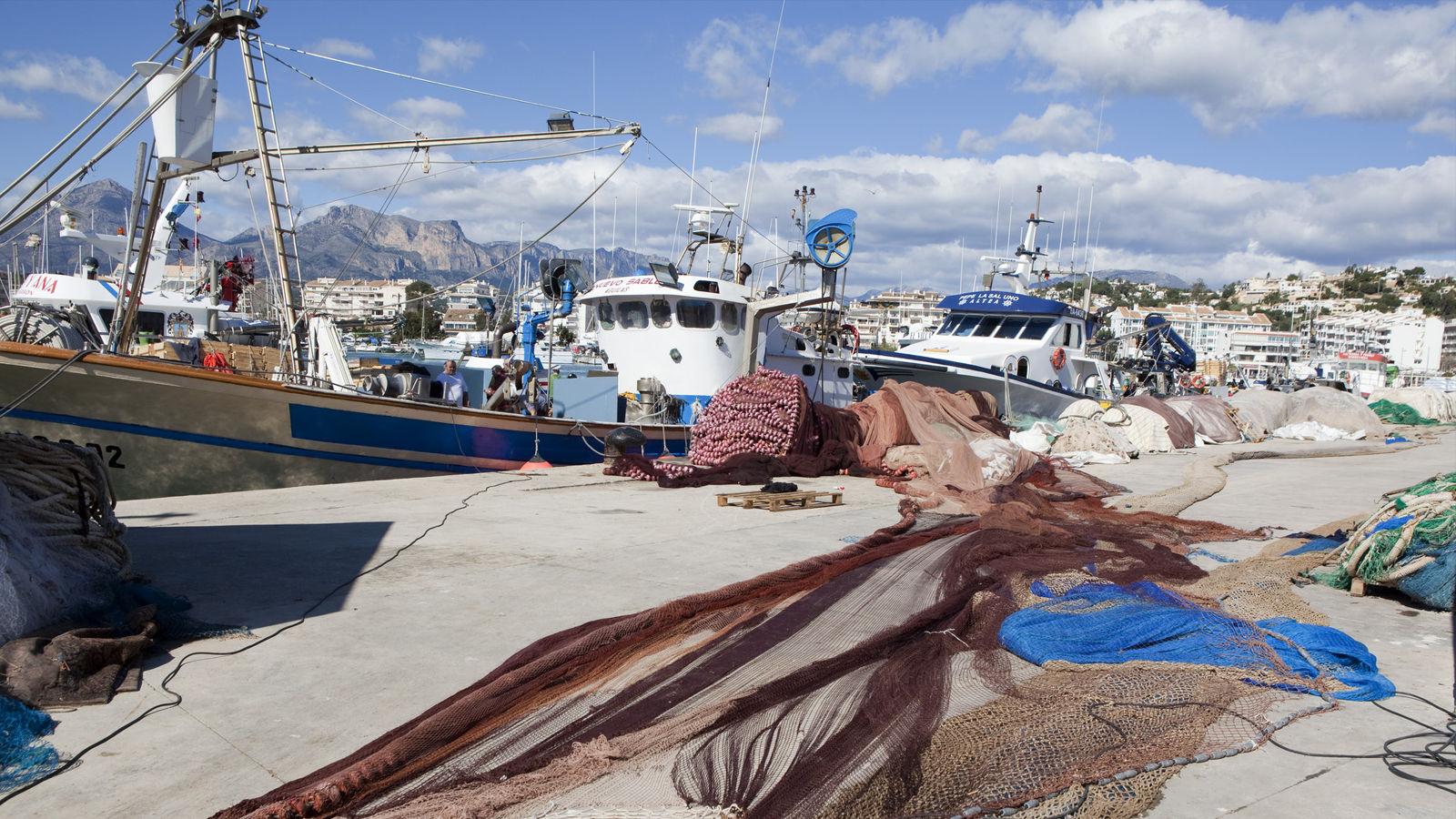Restaurante Alicante Juan Abril - Nuestro entorno - Altea - Barcos de pesca