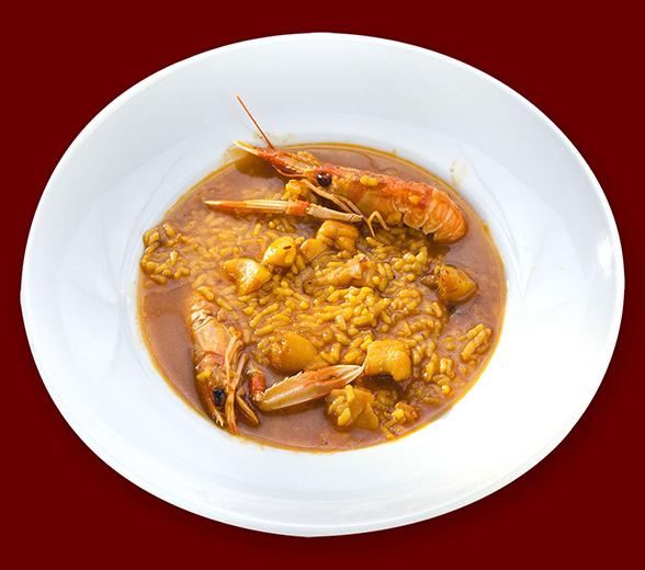Restaurante Alicante Juan Abril - Nuestra casa, su casa - Arroz caldoso