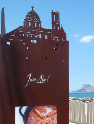 Restaurante Alicante Juan Abril - Nuestra casa, su casa - Troquel terraza