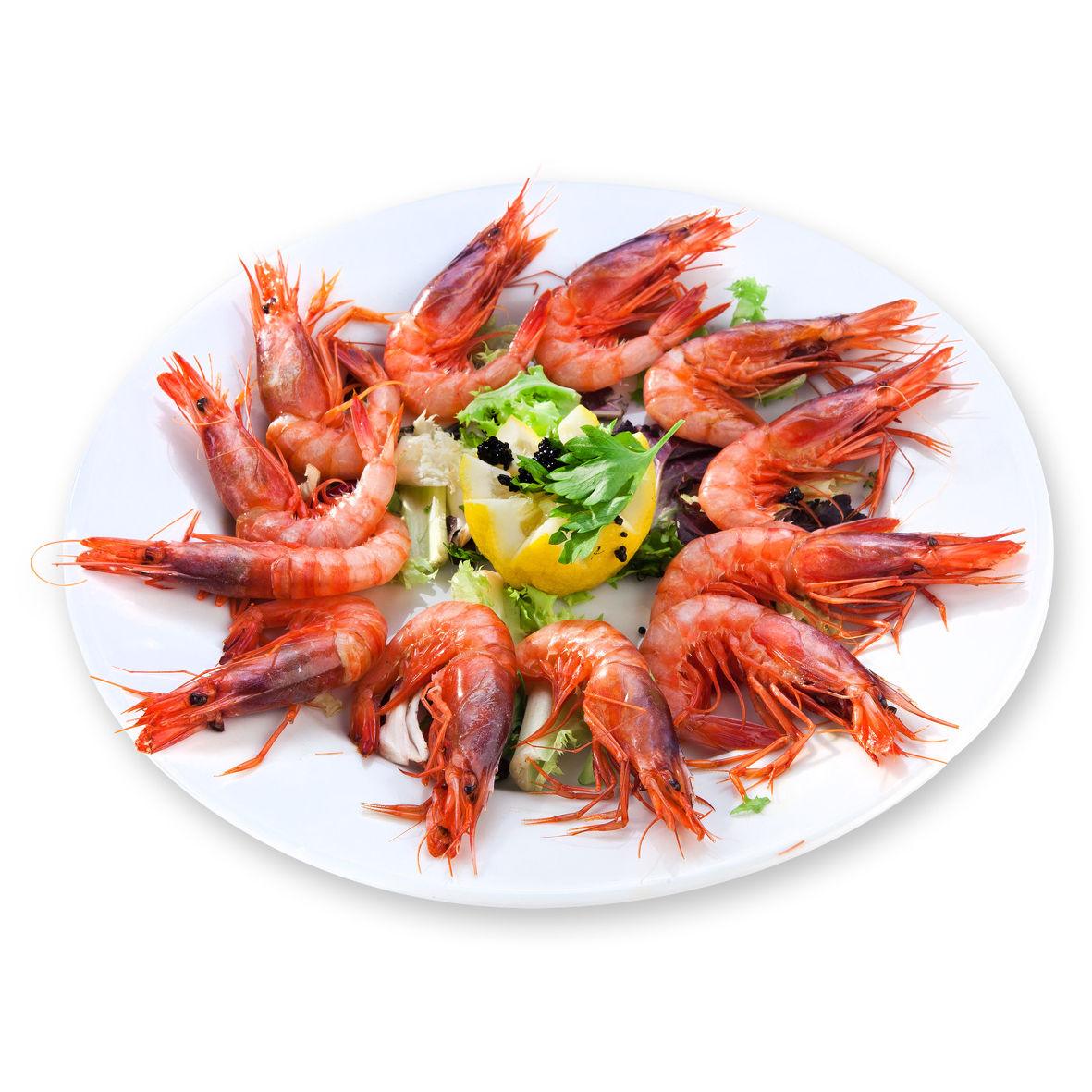 Restaurante Alicante Juan Abril - Platos - Gamba roja