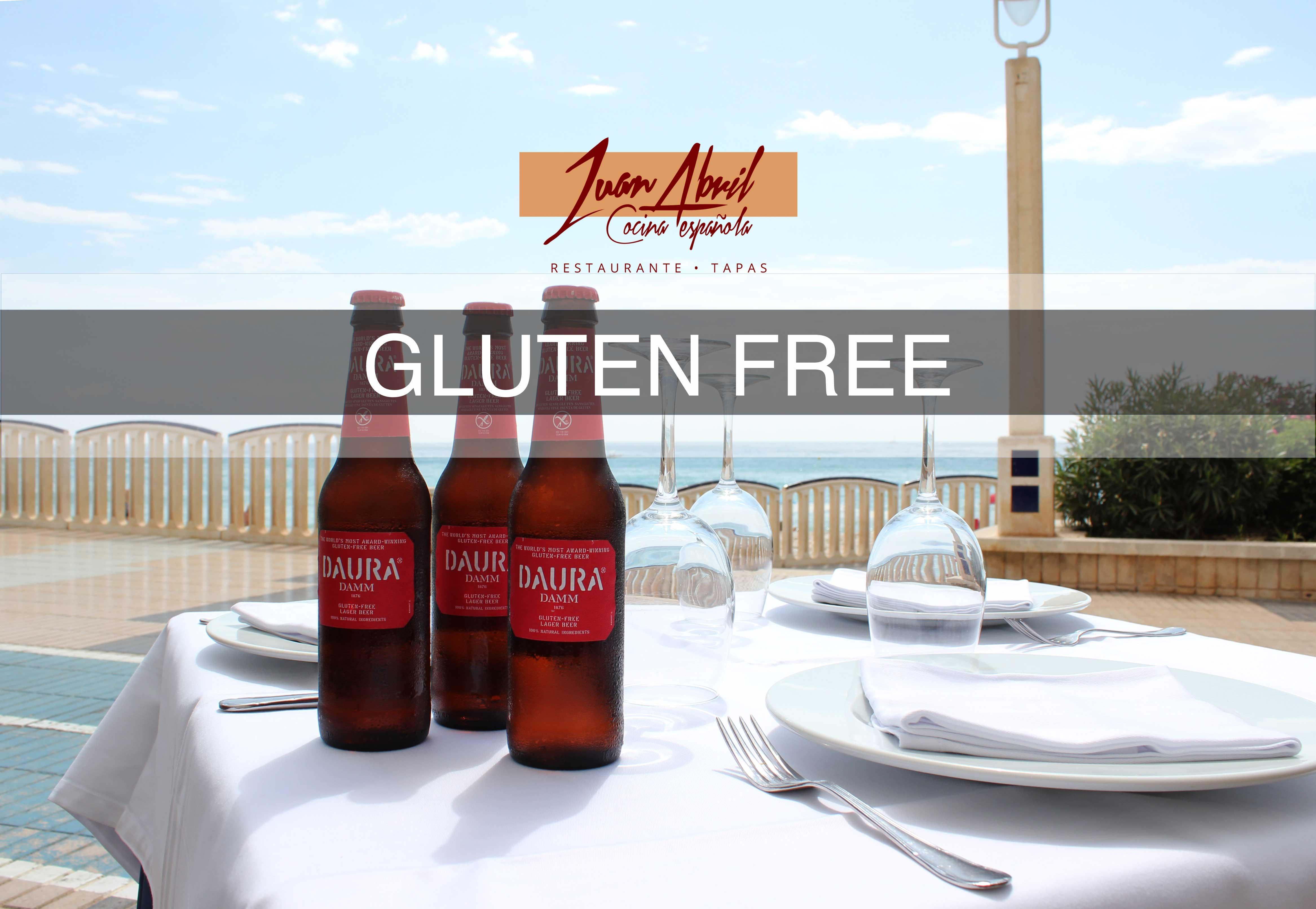 Productos gluten free en Juan Abril