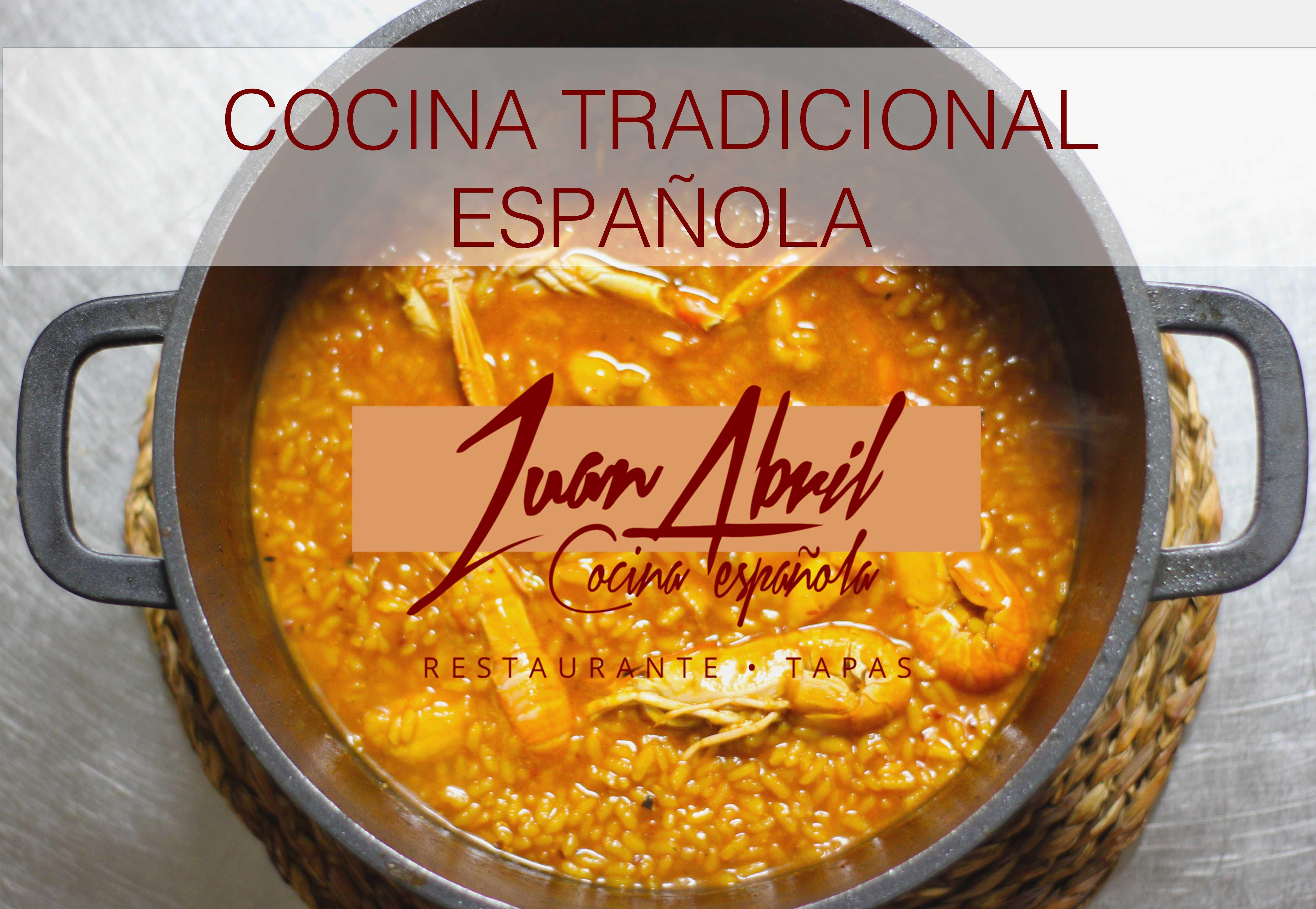 cocina tradicional con los sabores más mediterráneos
